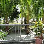 View from our cabin at Sipadan Mabul Resort (SMART)