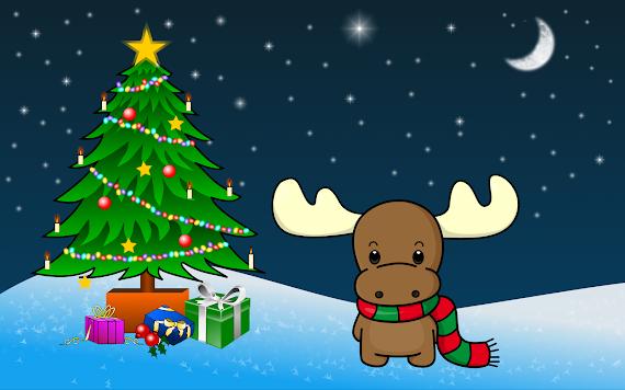 besplatne Božićne pozadine za desktop 1920x1200 free download blagdani čestitke Merry Christmas sob Rudolph