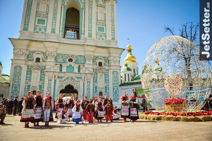 9 апреля состоялось открытие фестиваля ПИСАНКА в Национальном заповеднике София Киевская