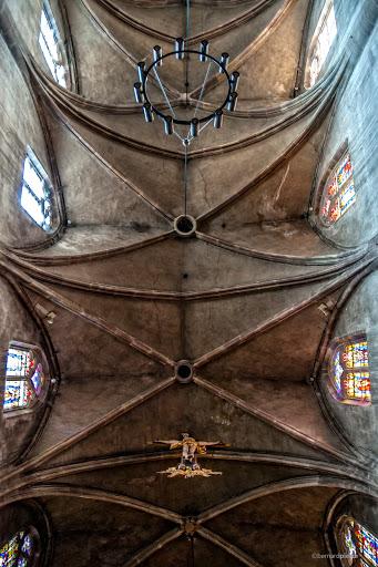 Plafond de l'église Sainte-Libaire