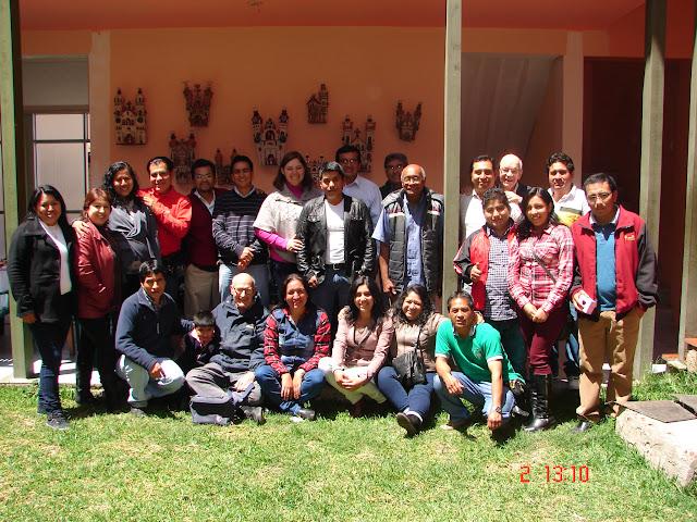 Integrantes de las Obras Marianistas de Otuzco