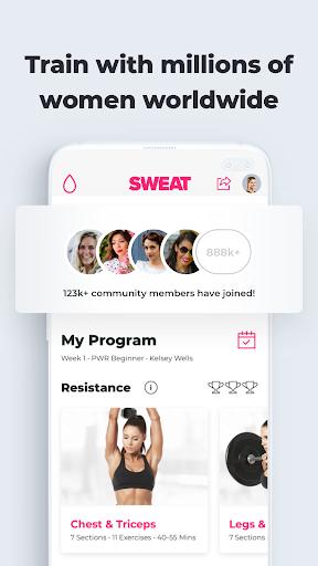 SWEAT: Kayla Itsines Fitness 5.9.2 screenshots 8