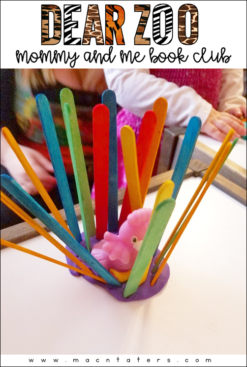 Dear Zoo Mommy and Me Book Club: Dear Zoo Activities for kids