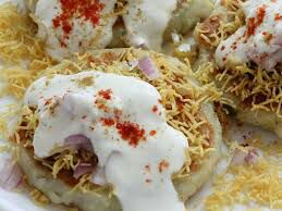 Aalu tikki chat| आलू टिक्की चाट | street food