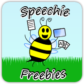 Speechie Freebies image