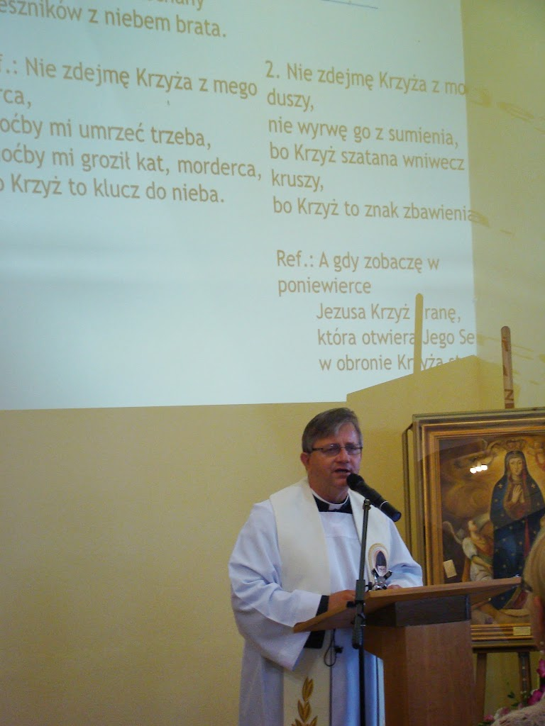 2014 Rekolekcje - Podwyższenie Krzyża Świętego w Częstochowie - DSC05816.JPG