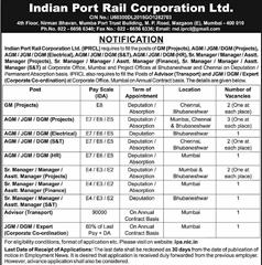 IPRCL Notification 2020 www.jobs2020.in