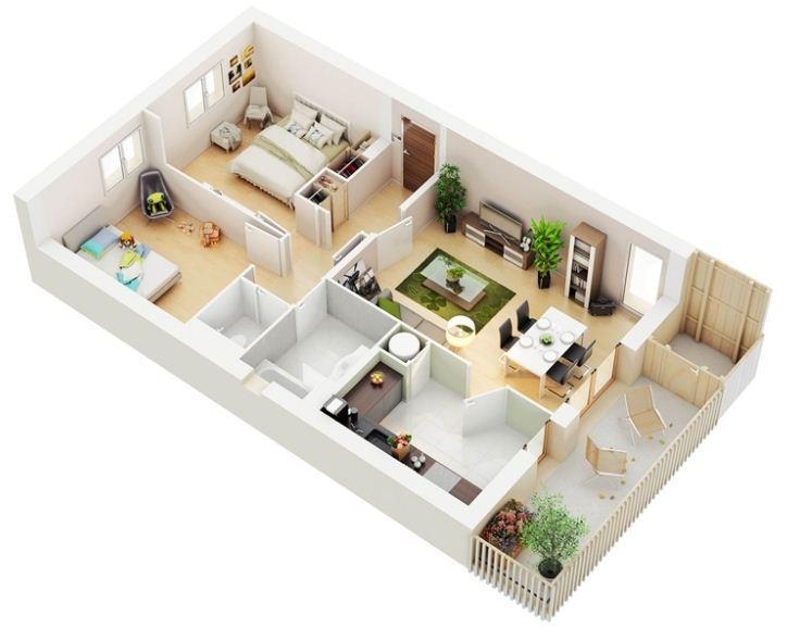 3d House Floor Plan