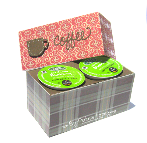 The cutting Cafe - K cup holder - Ruthie Lopez. 3