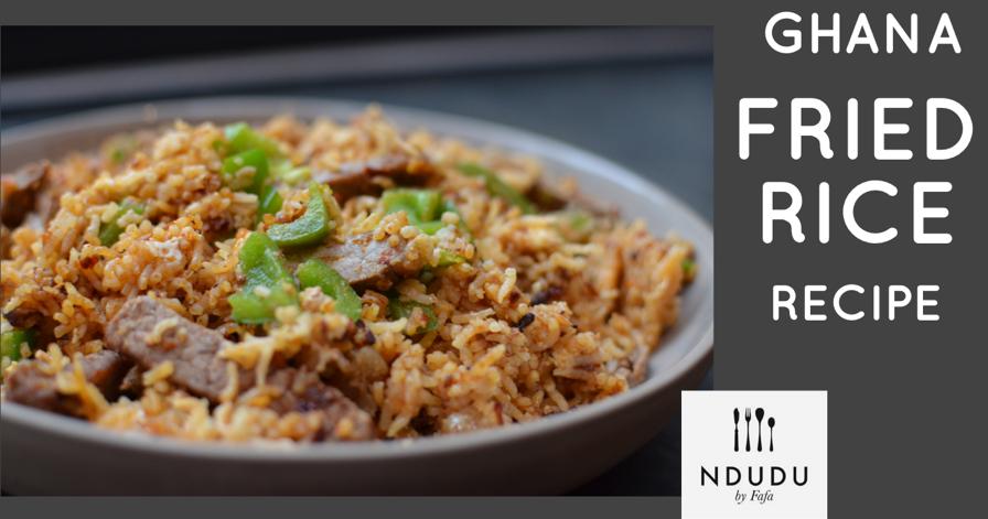 Ndudu by fafa ghanaian chilli beef and egg fried rice recipe ccuart Gallery