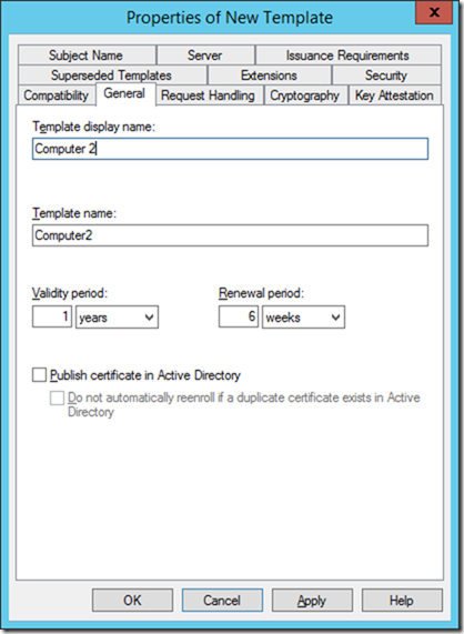 Technical deep dive how to enable certificate autoenrollment click on the security tab and grant enroll and autoenroll permissions for domain computers or whatever group of computers you need to configure yadclub Choice Image