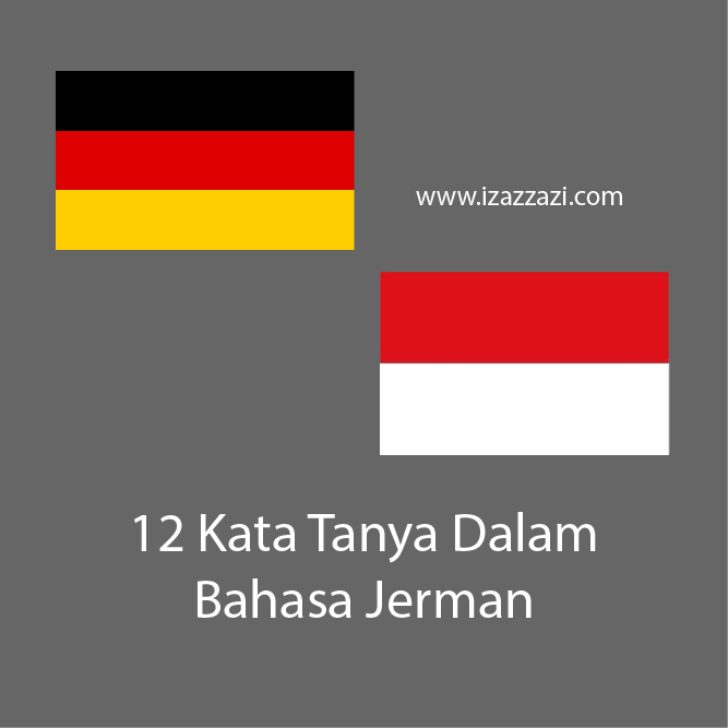 Logo Bendera Jerman dan Indonesia