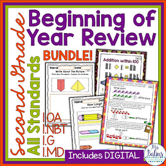 Grab the entire bundle that includes all fo my back to school math resources.