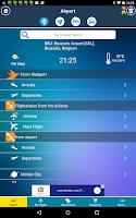 Screenshot of Brussels Airport + Radar BRU