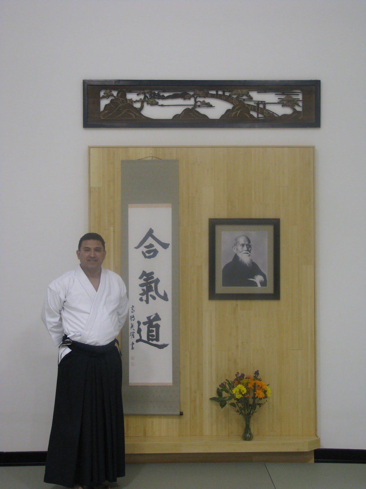 Hiroshi Ikeda 7th Dan - Midest Aikido Bridge Seminar, hosted by Aikido Shimboku Dojo / Lisa Tomoleoni 5th Dan Dojo Cho