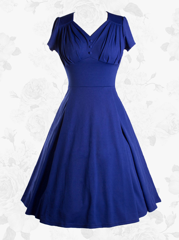 SHORT BLUE DRESS DESIGNS FOR AFRICAN WOMEN 5