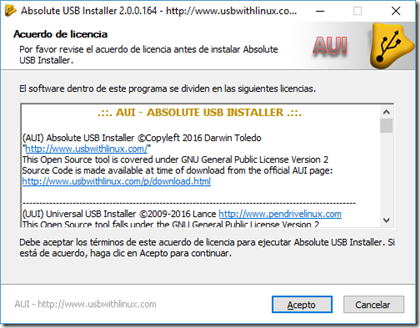 Absolute USB Installer v2.0 (Single Boot Tool)