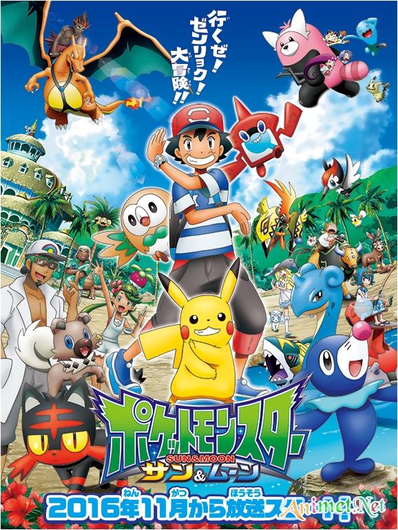 Pokemon Season 21: Sun & Moon - Pocket Monsters Sun & Moon | Pokémon Sun & Moon | Pokemon Phần 21