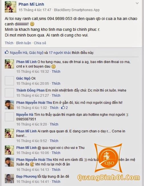 Ý kiến khách hàng về Quảng Bình Ơi 04