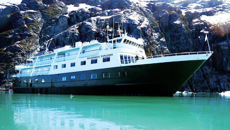Wilderness Explorer from Un-Cruise Adventures sails the inlets of coastal Alaska.