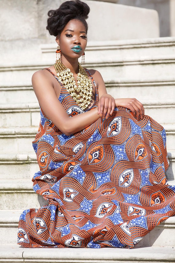 African Prom Print Dresses Styles For Summer 2
