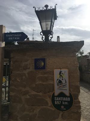 Santjago ceļš. 3. diena. 697 km līdz Santjago.