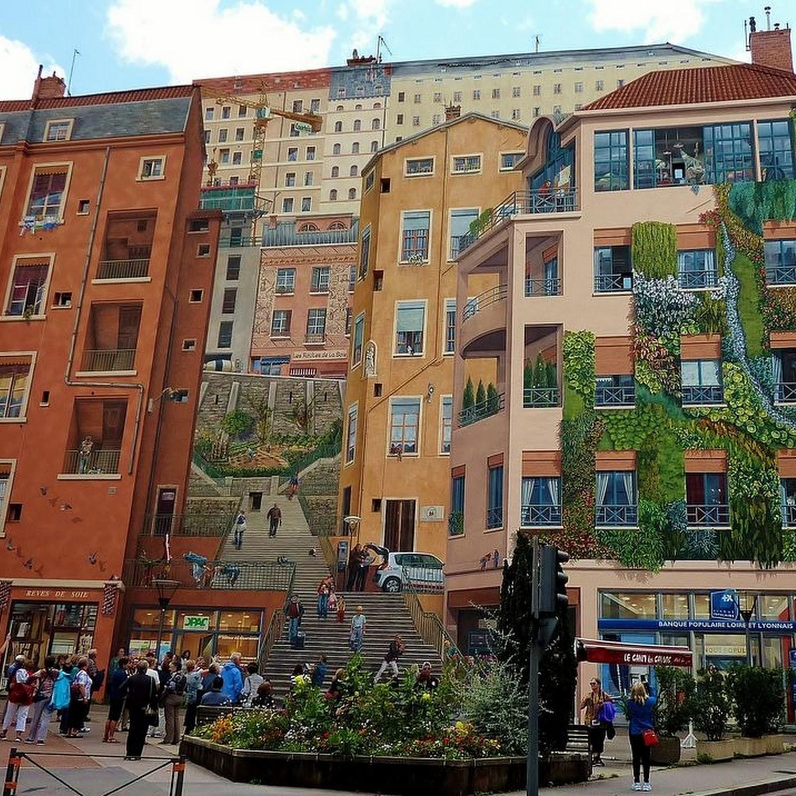 Lyon, The City of Murals