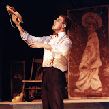 Christopher Foster in LOOK HOMEWARD, ANGEL (R) - March 1994.  Property of The Schenectady Civic Players Theater Archive.