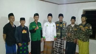 Gelar Manakib, GP Ansor Cikalong Kulon Cianjur Doakan Korban Bencana