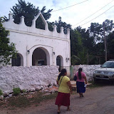 The front of Eben-Ezer, the church where the training took place.
