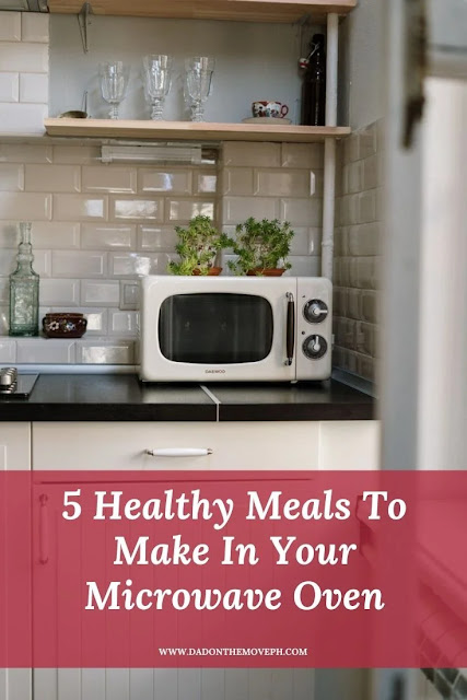 Five healthy meals to cook in the microwave