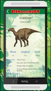 Guia Dinosaurios Prehistóricos screenshot 4