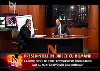 B1 TV hd live Romania nasul presedintele