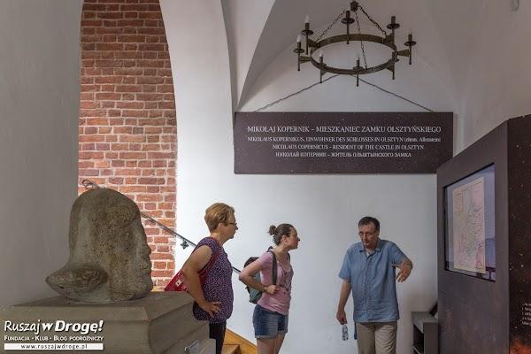 Wystawa o pobycie Mikołaja Kopernika na Warmii na zamku w Olsztynie