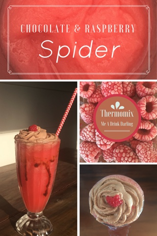 Chocolate & Raspberry Spider