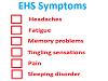 EHS symptoms