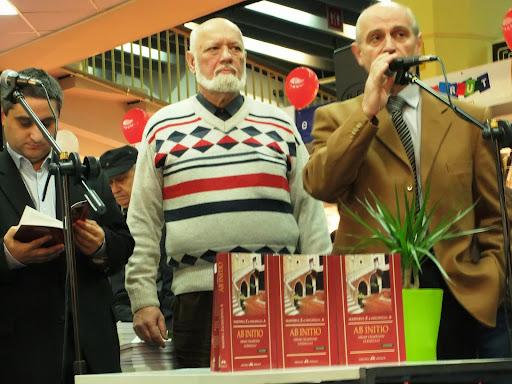 """Lansare de carte : """"Ab Initio, Hiram talmacind ucenicului"""" - Gaudeamus Bucuresti - 2012"""