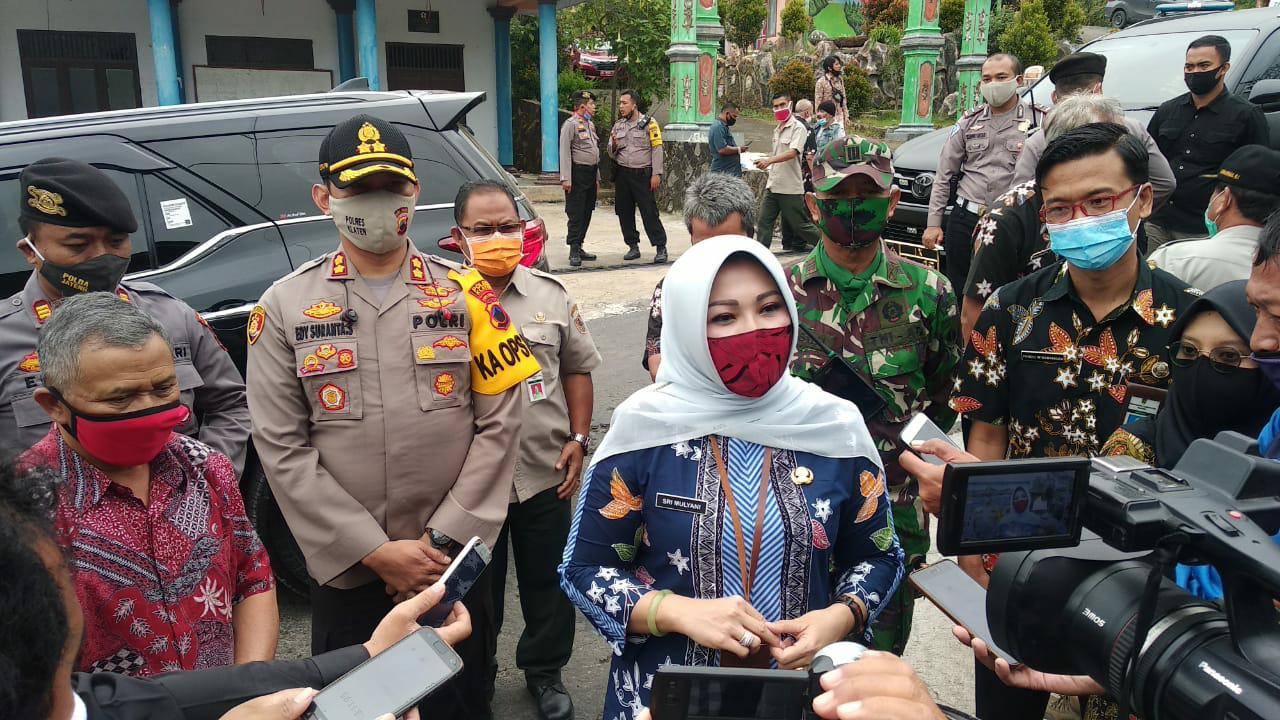 Bupati Sidak Shelter dan Jalur Evakuasi di Lereng Merapi