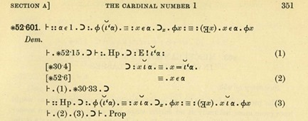 Principia Mathematica Example from Isaac Newton
