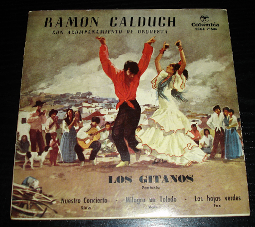 Ramon Calduch y orquesta.. single