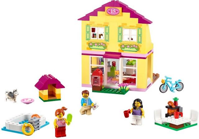 Đồ chơi xếp hình Lego Juniors10686 Nhà ở gia đình Family House