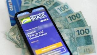 Cerca de 3,2 milhões terão a última parcela do auxílio emergencial depositada nesta segunda-feira