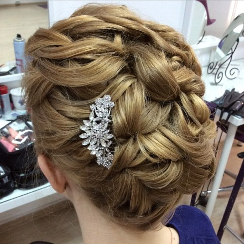The trendy Wedding Hairstyles For And include hair color 2017 9
