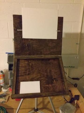 My DIY Plein Air Pochade Box Easel
