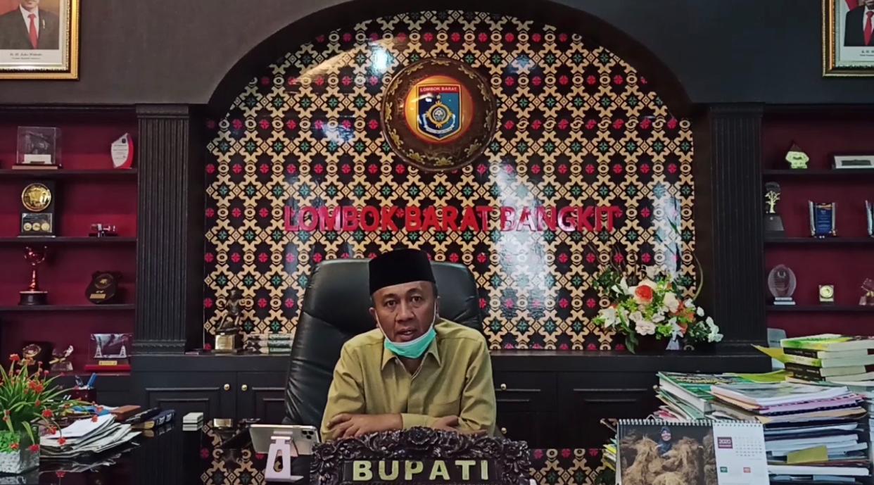 Bupati Aspresiasi dan Inovasi Satuan Lalulintas Polres Lombok Barat Polda NTB