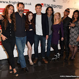 OIC - ENTSIMAGES.COM - Heather Rae, Russell Friedenberg, Castille Landon, Zane Holtz, J LaRose, Dori Sperko, Rudy Youngblood and Tsulan Cooper at the Film4 Frightfest on Friday of   Wind Walkers UK Film Premiere at the Vue West End in London on the 28th August 2015. Photo Mobis Photos/OIC 0203 174 1069