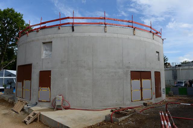 Lancement officiel du chantier des réservoirs et station de pompage de Bruyères