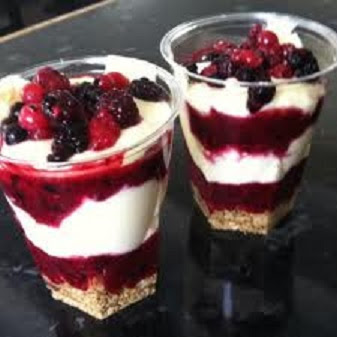 Tiramisu aux fruits rouges