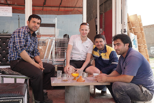 Einladung zum Tee in Qareh Avãq