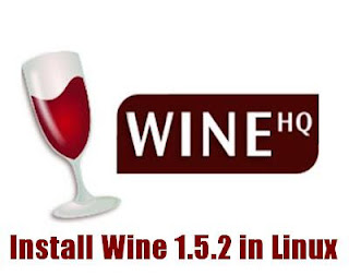 Install Wine 1.5.2 in Linux